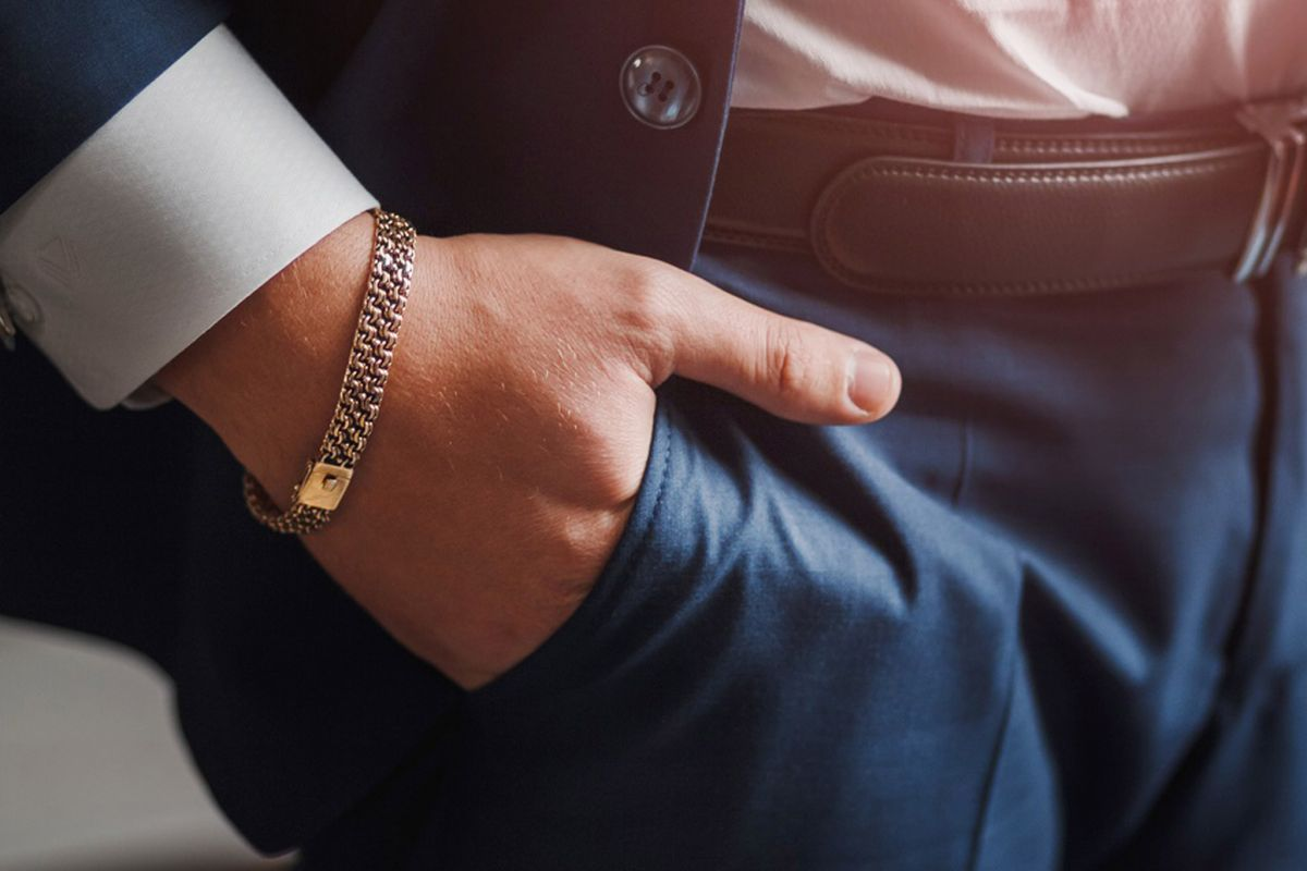 Popularity of male jewellery continues to surge