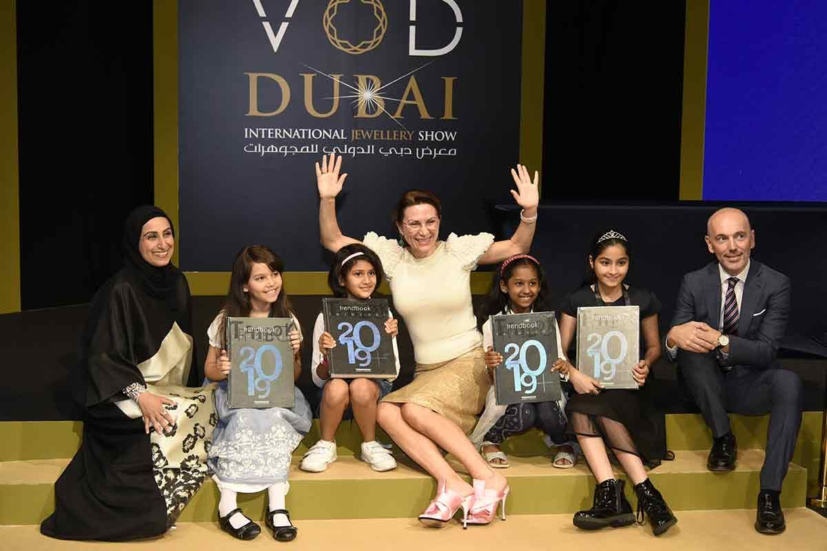 Day 3 welcomed consumer visitors at VOD Dubai International Jewellery Show
