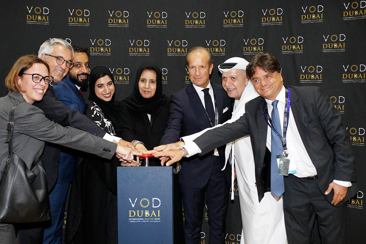VOD Dubai International Jewellery Show 2017 opens for business