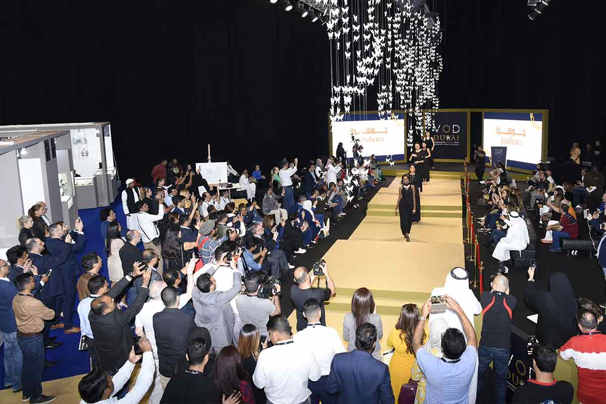 Day 2 of VOD Dubai International Jewellery Show proved to be another crowd-pleaser with an array of exclusive offers, glamourous fashion shows